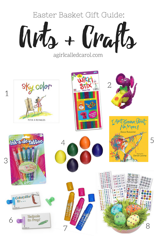 Arts + Crafts Easter Basket Gift Guide
