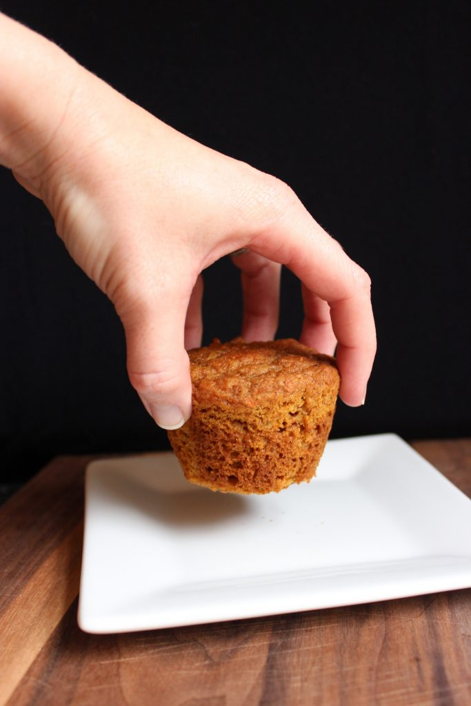 Carrot Cake Muffin Photoshoot