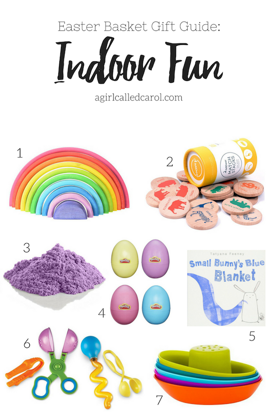 Indoor Fun Easter Basket Gift Guide