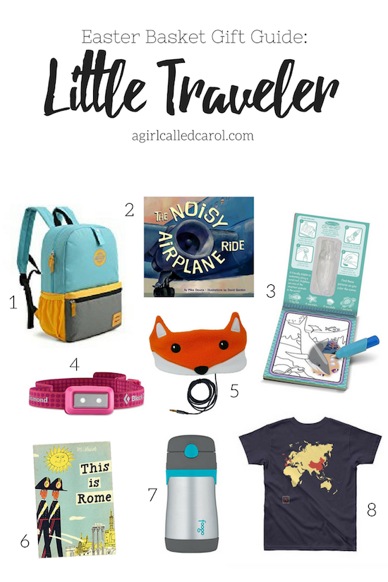 Little Traveler Easter Basket Gift Guide